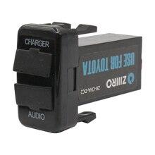 Car-Charger Socket Adaptor-Pad VIGO Fj-Cruiser For Toyota Tablet Usb-Interface Audio