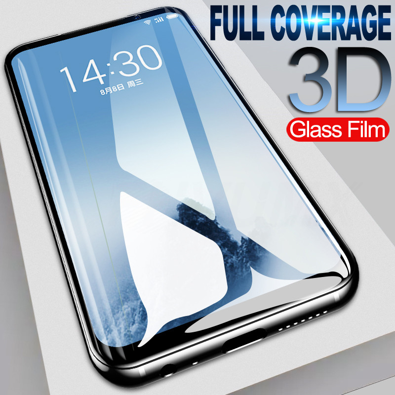 Full Cover Tempered Glass On The For Meizu M5 M6 Note M5S M5C M6 M6S Pro 7 Protective Glass For Meizu 16s 16 Plus 16xs Film Case