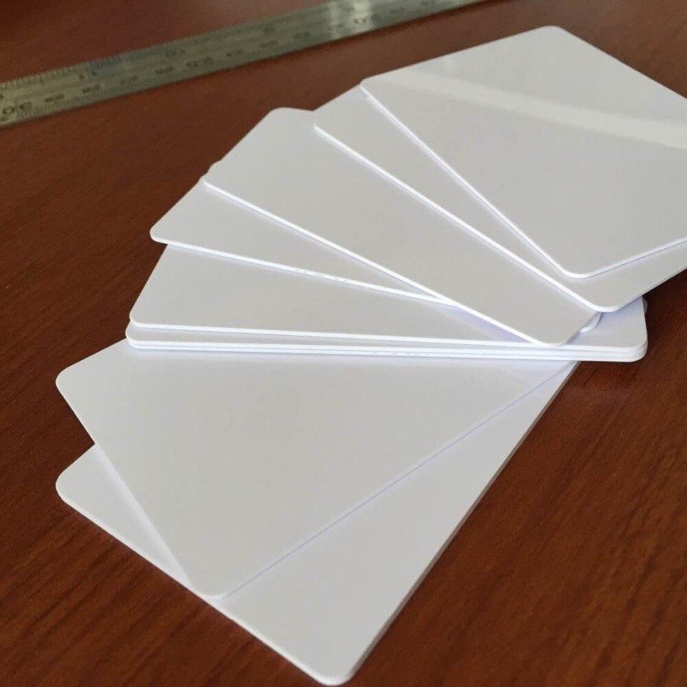 Free shipment 1000pcs/lot Hitag S256 chip blank smart PVC card