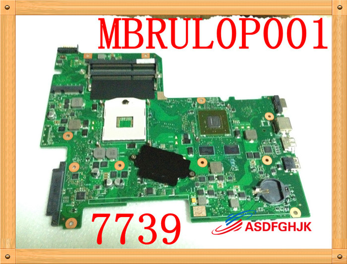FOR Acer Aspire 7739 Series Notebook Motherboard Mb.rul0p.001 MBRUL0P001 AIC70 MAINBOARD 100% TESED OKFOR Acer Aspire 7739 Series Notebook Motherboard Mb.rul0p.001 MBRUL0P001 AIC70 MAINBOARD 100% TESED OK