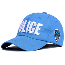 Letter NYC POLICE Caps Men Women Child Leisure Embroidery Cotton Snapback Summer Mesh Sun Hats Adjustable Baseball Outdoor