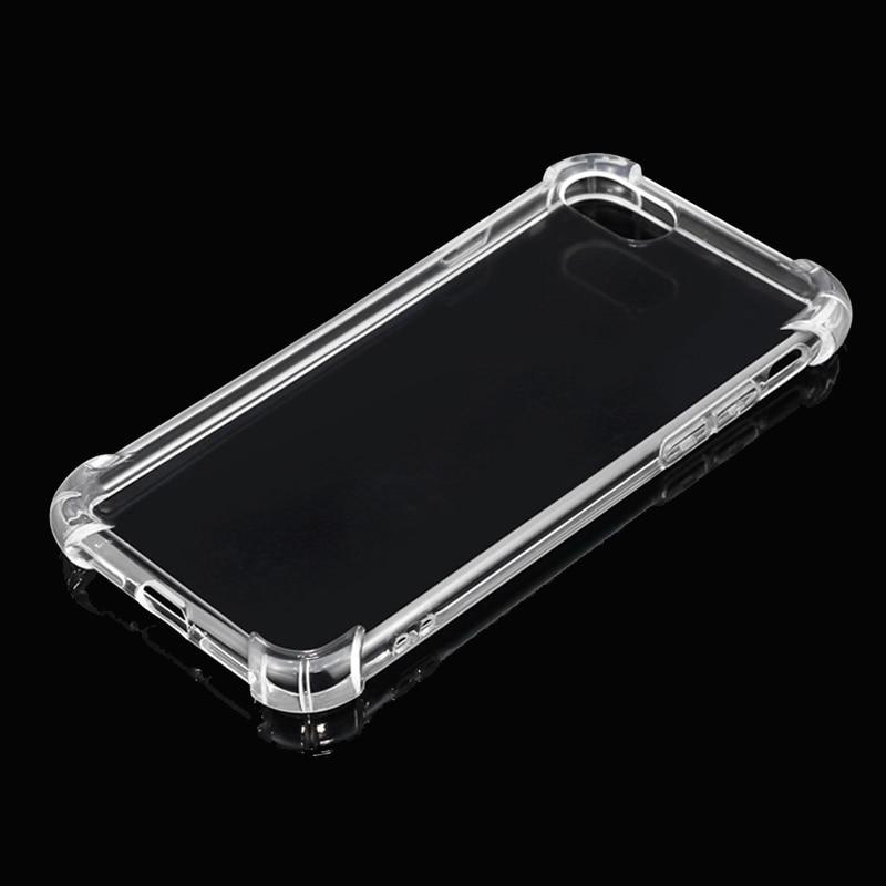 (10 pieces / lot) Transparan Tutup Kasus Untuk iPhone 7 7 Ditambah - Aksesori dan suku cadang ponsel - Foto 2