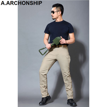 Mans Thunder IX9 Cargo Pants Military Tactical Trousers Combat Hike Outdoors SWAT Hunter Train Army Trousers T-001