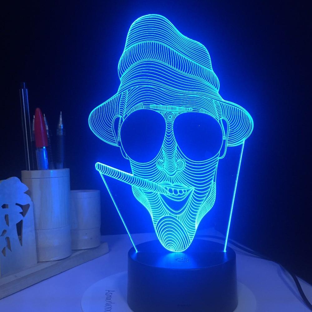 Night Ordinateur Creative Light Homme Glaces Lampe V Led Lumière rxshdQtC