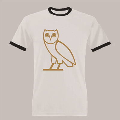 OWL Octobers Very Own Black New Men's T-Shirt  Men T Shirt BOYS T-SHIRT DESIGN 100% COTTON CUSTOM Print TEES
