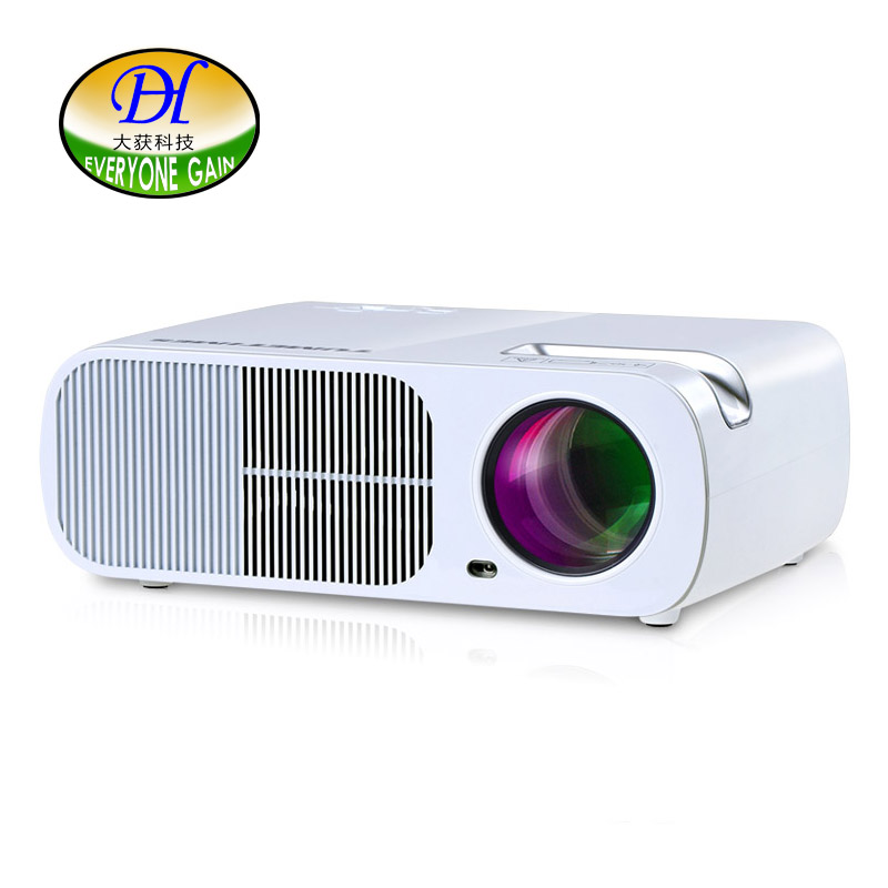 Everyone Gain 3D LED LCD Projector Long Srevice Life Build-in Speaker Proyector 3 Second Quick Start Home Theater Beamer mini296