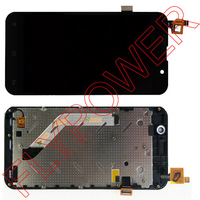 For ZOPO C2 ZP980 LCD Display Digitizer Touch Screen Assembly With Frame Bezel Black By Free