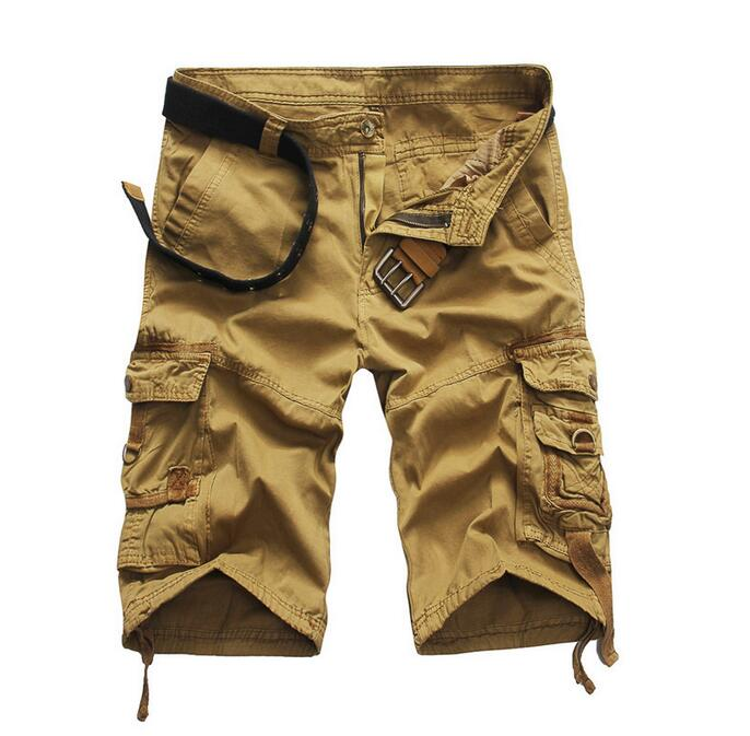 Smeiarar 2018 Shorts Uomo Estate Casuali degli uomini di Modo di Marca Bermuda Mimetici Pantaloni di Scarsità Degli Uomini Homme Stampa Allentato Cargo Shorts