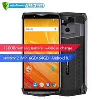Ulefone Power 5 13000mAh 4G Smartphone 6 0 FHD MTK6763 Octa Core Android 8 1 6GB