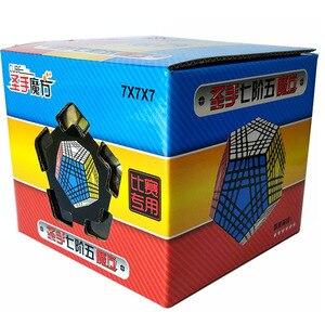 Image 5 - Shengshou Teraminx Cube 7X7 Wumofang 7X7X7 Khối Chuyên Nghiệp Dodecahedron Khối Lập Phương Xoắn Xếp Hình Giáo Dục đồ Chơi