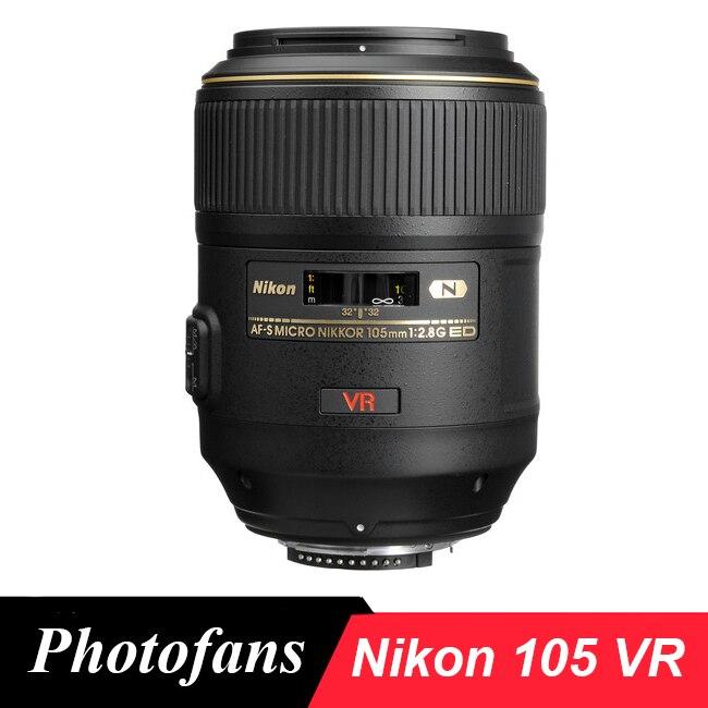 Nikon 105 Nikkor VR AF-S Micro 105mm f/2.8G IF-ed VR Obiettivo Macro Lente