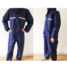 1 szt wodoodporny wiatroszczelny Conjoined płaszcze kombinezony motocykl elektryczny moda płaszcz przeciwdeszczowy mężczyźni i kobiety kostium przeciwdeszczowy odzież przeciwdeszczowa