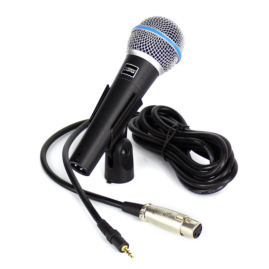 professional handheld dynamic vocal mic wired microphone plug for computer studio video. Black Bedroom Furniture Sets. Home Design Ideas