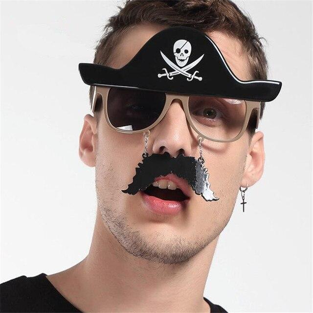 Пиратские очки для карнавала в ассортименте