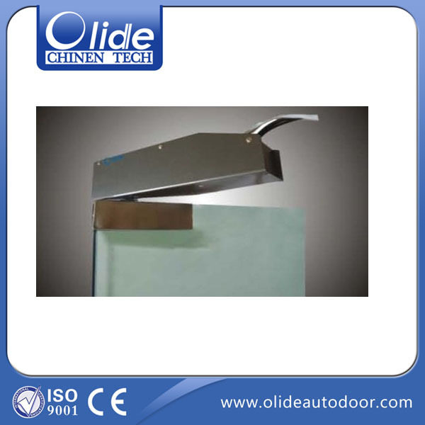 Power Concealed Single Swing Door Closer Frameless Glass Opener Automatic