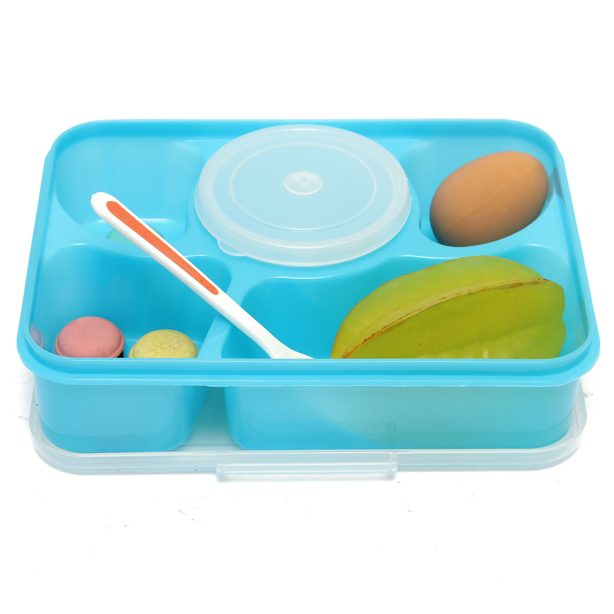 Portable Microwave Bento Box Set With Soup Food Container Storage ...