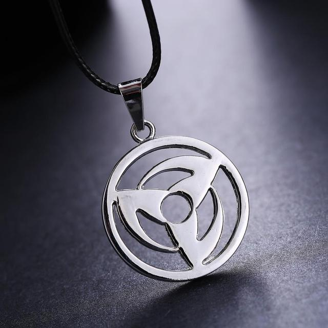 Anime Naruto Uchiha Obito Kakashi Pendant Necklace