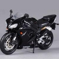 1 12 Original New Children Mini Yamaha Supercross YZF R1 Metal Diecast Models Motor Bike Motorcycle