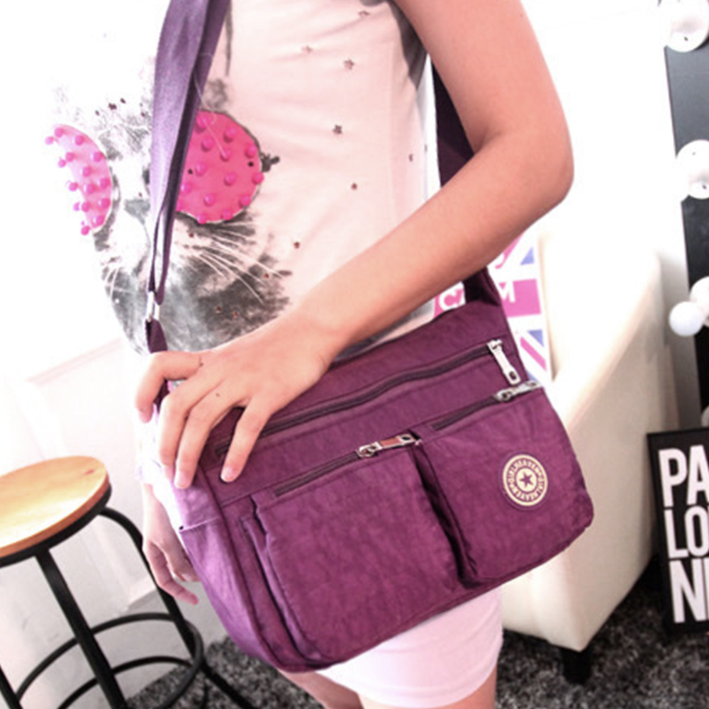 Women Bags Vinatge Canvas Messenger Bags 2017 Designer Brand Mens Fashion Crossbody Shoulder Bag Solid Male Casual Travel Bag