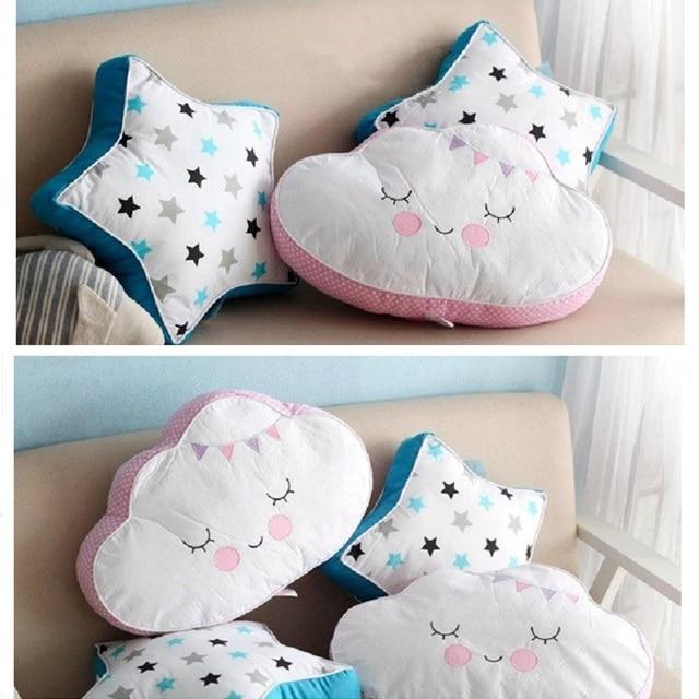 Aliexpress.com : Buy Cartoon Smile Cloud Star Cushion ...