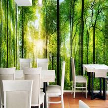 3D Wallpaper Natural Scenery Forest