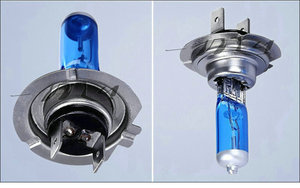 Image 5 - 10 יחידות H7 100 w 12 v סופר מואר לבן ערפל אורות הלוגן הנורה גבוה כוח רכב פנסי מנורת רכב אור מקור חניה 6000 k