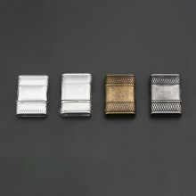 10sets Antique Silver/Bronze Magnetic Clasp for up to 16mmx3mm flat leather cord