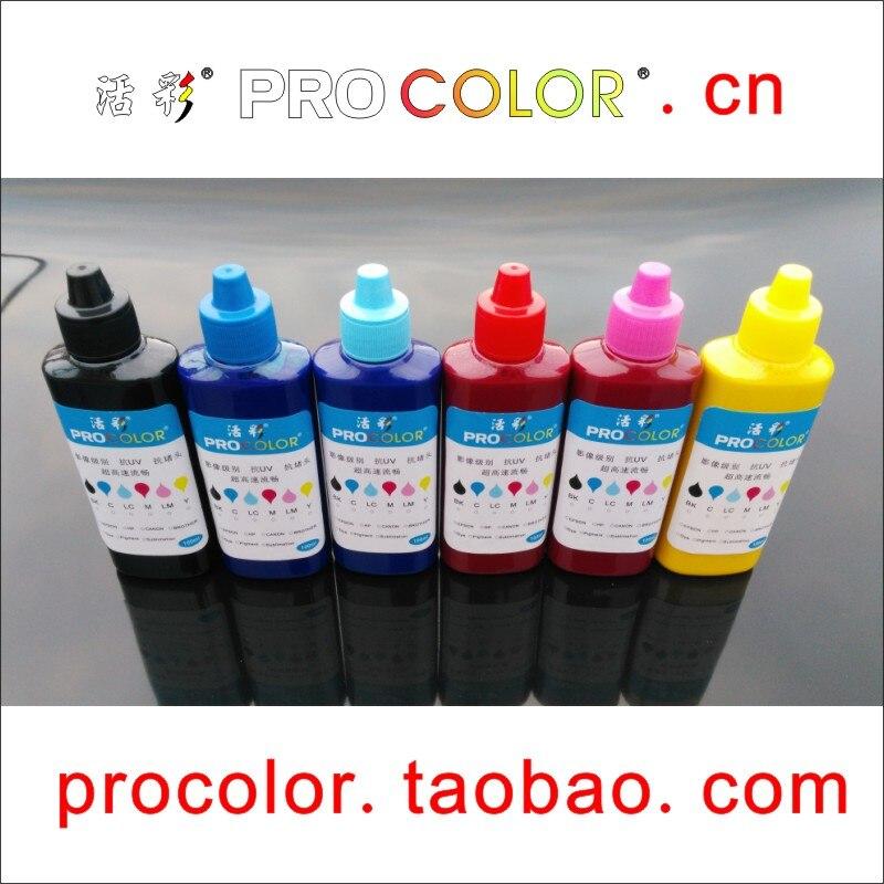 T6731 T673 673 alta calidad CISS recarga Kit de recambio de tinta de pigmento para Epson CISS L800 L801 L805 L810 L850 L1800 meaf impresora de inyección de tinta