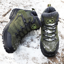 Men Winter Hiking Shoes Hiking Shoes Hiking Boots Tactical Boots Outdoor Mountain Climbing Sports Sneakers Boots for Hunting men s hiking shoes outdoor sneakers anti skid hunting climbing shoes men s military tactical army shoes breathable hiking boots