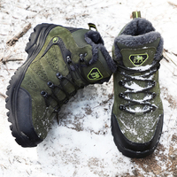 Men Winter Hiking Shoes Hiking Shoes Hiking Boots Tactical Boots Outdoor Mountain Climbing Sports Sneakers Boots for Hunting