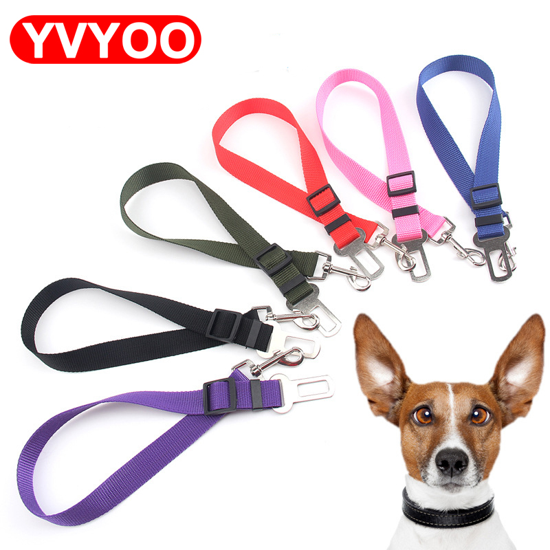 Pet Safety Care Dog Cat Vehicle Car Seat Belt Seatbelt Harness Lead Clip Pet Cat Dog Safety