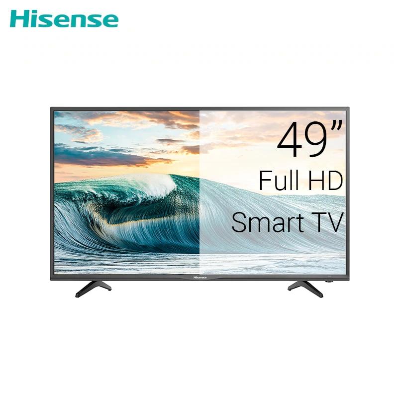 TV sets 49 Hisense 49N2170PW FullHD Smart LED CLEAR  TV FHD DOLBY dvb dvb-t dvb-t2 digital 4049InchTv television tv 58 skyworth 58g2a 4k smart android clear led tv android 8 0 uhd dolby dvb dvb t dvb t2 digital