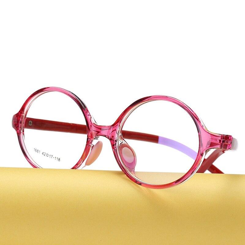 KESMALL детей прозрачные оптические очки кадр Мальчики TR90 игровой Оправы для очков прекрасный Стиль девочек близорукость очки XN898