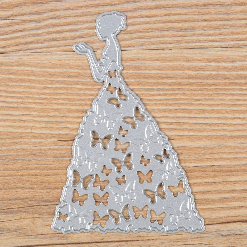 Princess Cutting Dies Stencil Scrapbooking Album Paper Card Decorative Craft DIY