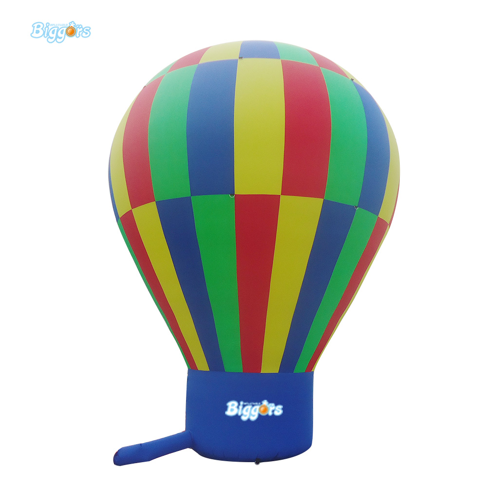 Big Standing Inflatable Advertising Fire Balloons Inflatable Hot Air Balloon For Advertisements inflatable cartoon customized advertising giant christmas inflatable santa claus for christmas outdoor decoration