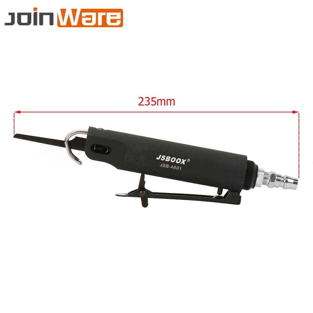 1/4'' Pneumatic Reciprocating Air Saw File Trim Cutting Metal Sheet Sawing Machine Filing Tools High Speed 9000RPM