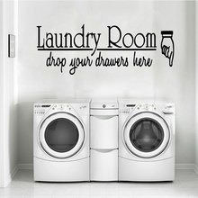 Exquisite laundry room Waterproof Wall Stickers Home Decor Living Room Children Room Wall Decoration naklejki free shipping laundry waterproof wall stickers home decor living room children room removable decor wall decals