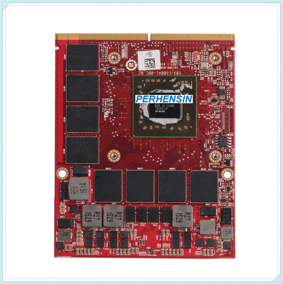 MG0X9 FOR Dell FOR Precision M15X M17X M6600 M6800 M6700 2GB DDR5 FirePro M6100 Video Card 0MG0X9 q3000m 2gb n12e q1 a1 graphics card for dell m6600 m6700 for hp 8760w 8770w 8740w video card gpu replacement tested working