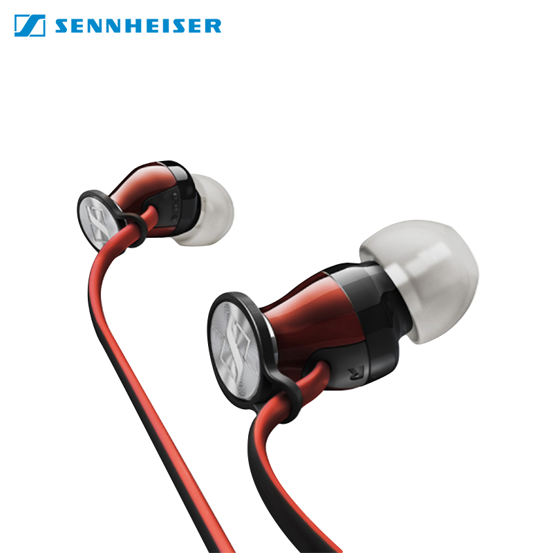 Earphones Sennheiser M2 IEI with microphone for phone for iphone in-ear awei es 20ty hifi music wired earphones with microphone rose gold