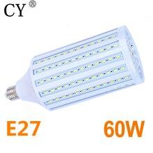 E27 220V Photo Studio prąd stały 60W żarówki LED lampy LED żarówki kukurydze LED i lampy oświetlenie fotograficzne