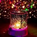 10 UNIDS/LOTE Principal de la Estrella Estrellada Regalo noche de luz Led Para El Hogar Lámpara Del Proyector de Luz LED de La Novedad Increíble Sky Amo de la Estrella colorido