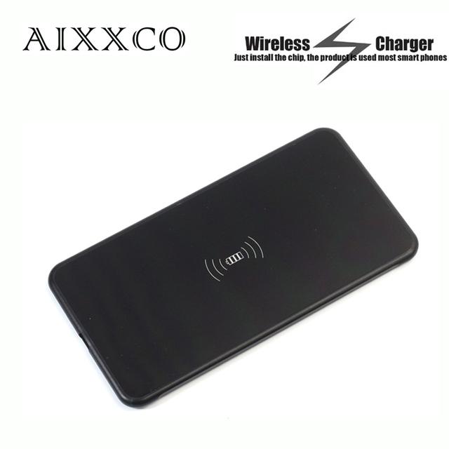 AIXXCO 5 мм ультра Тонкий Беспроводной зарядки передатчика Ци стандарт Беспроводной зарядное устройство для Samsung Galaxy S6 Edge Plus/Note5/S7 края