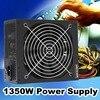 1350W 220V Modular Power Supply For 6 GPU Eth Rig Ethereum Miner 90 Plus Gold High