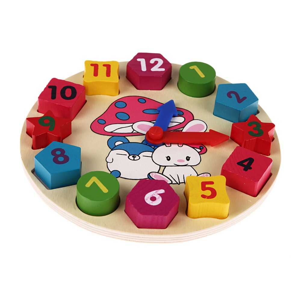 Wooden-12-Number-Clock-Toy-Baby-Colorful-Puzzle-Digital-Geometry-Clock-Educational-Clock-Toy-High-Quality-For-Kids-Children-Gift-2