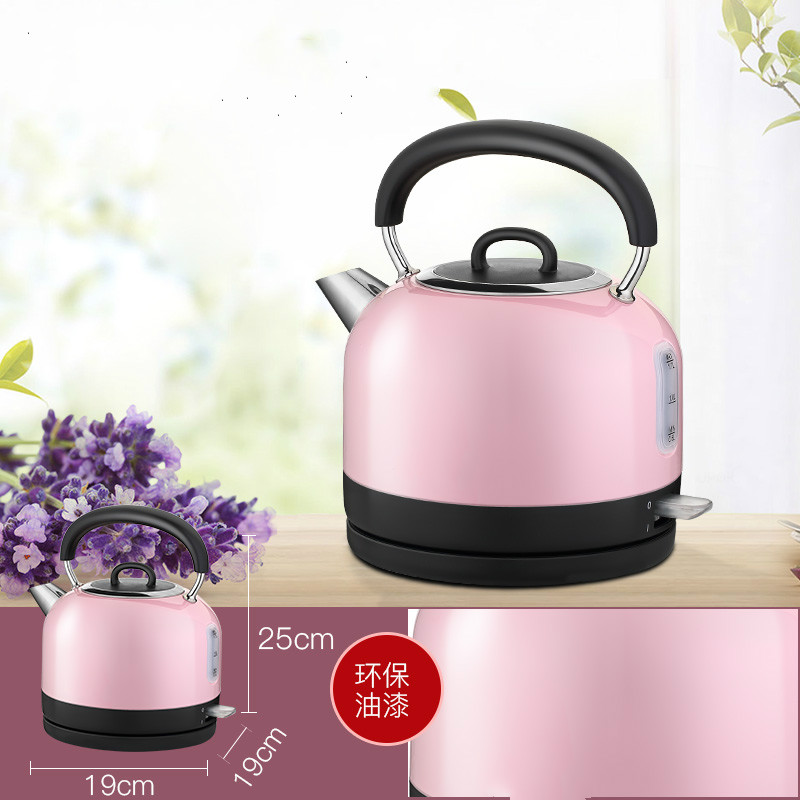Electric kettle Household extra thick food grade 304 stainless steel kettles Safety Auto-Off Function mobilier m бюро