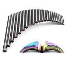 22 трубы Panpipe ручной работы ABS Смола G ключ фляута pan Музыкальные инструменты Pan флейта 22 для профессиональных игр или учебы