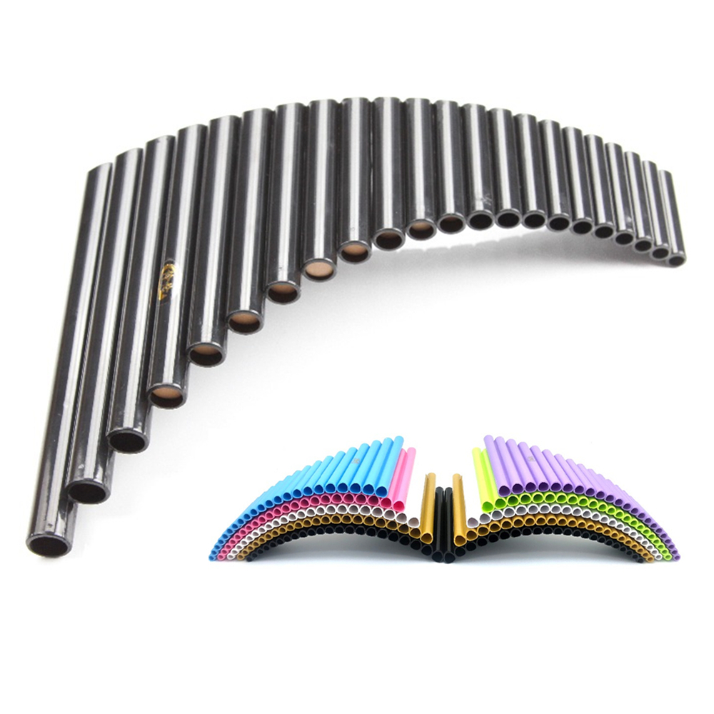 22 Pipes Panpipe Handmade ABS Resin G Key Romania Flauta Pan Musical Instruments Pan Flute 22 For Professioal Play Or Study