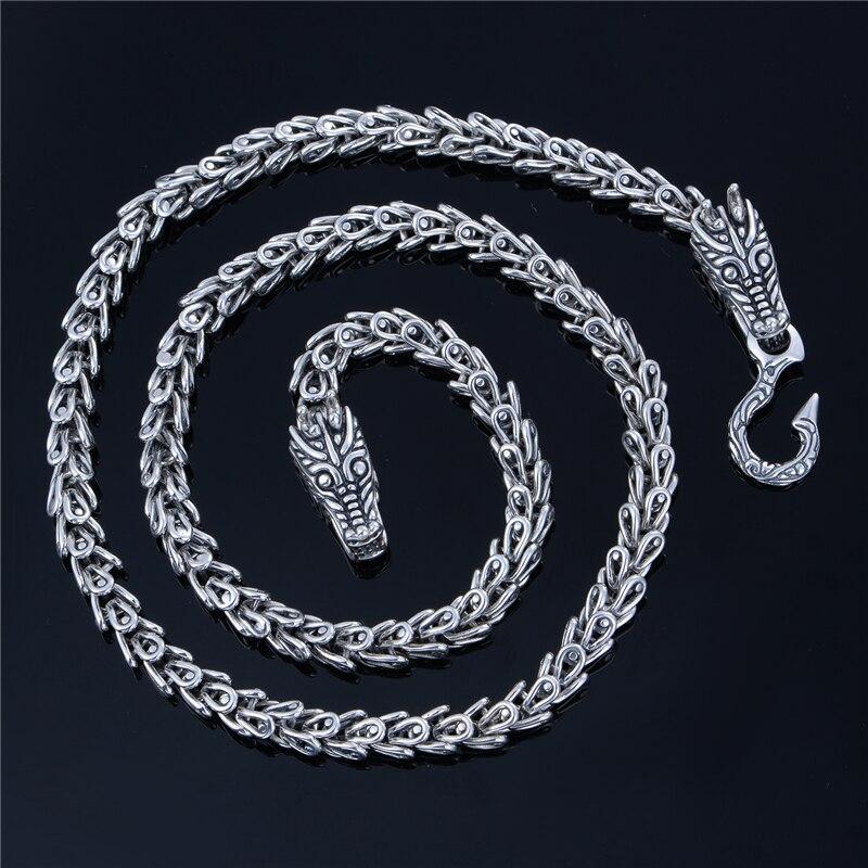 Bijoux fantaisie haute qualité 55 CM déclaration collier et chaîne diamètre 7mm fermoir 19.8*10.21*4.1mm bijoux style XLT002H20 - 2