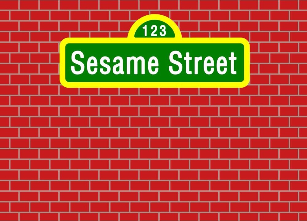 7x5FT Dark Red Bricks Wall Sesame Street Custom Photo Background Backdrop Vinyl 220cm X 150cm In From Consumer Electronics On Aliexpress