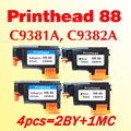 4pcs for hp 88 Printhead C9381A/C9382A compatible for HP88 L7580 7590 K5400 K550 K8600